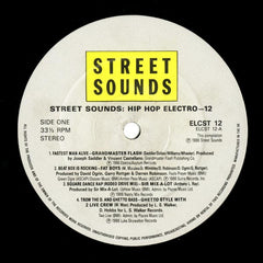 "Various - Street Sounds Hip Hop Electro 12"" ELCST12 Street Sounds"