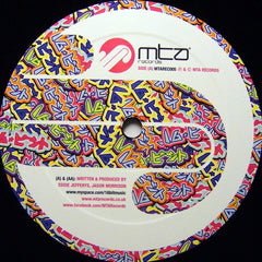 "16 Bit - FRZR9000 / Skullcrack 12"" More Than Alot Records MTAREC005"