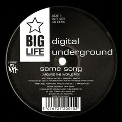 "Digital Underground - Same Song 12"" Big Life BLR 40T"