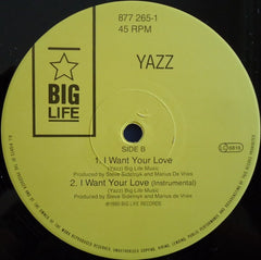 "Yazz - Treat Me Good 12"" Big Life 877 265-1, BLR 24T"