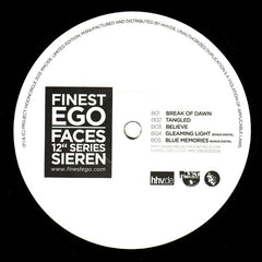 "Lomovolokno / Sieren - Finest Ego Faces 12"" Series Vol. 4 12"" PMC106 Project Mooncircle"