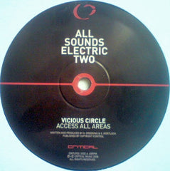 "Various - All Sounds Electric Two 3x10"" Critical Recordings CRITLP02"