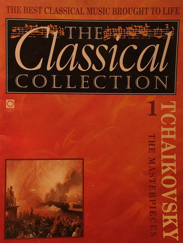 TCHAIKOVSKY The Masterpieces (THE CLASSICAL COLLECTION) Pamphlet - 1992 (Free Shipping)