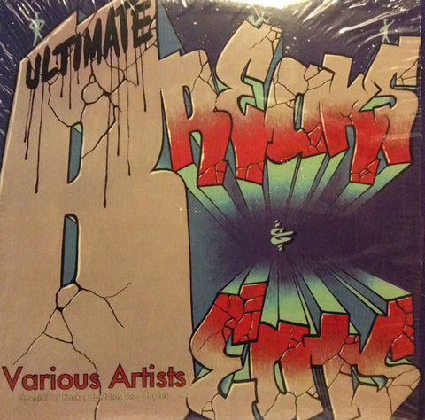 "Various - Ultimate Breaks & Beats 2x12"" LP Street Beat Records SBR-522"