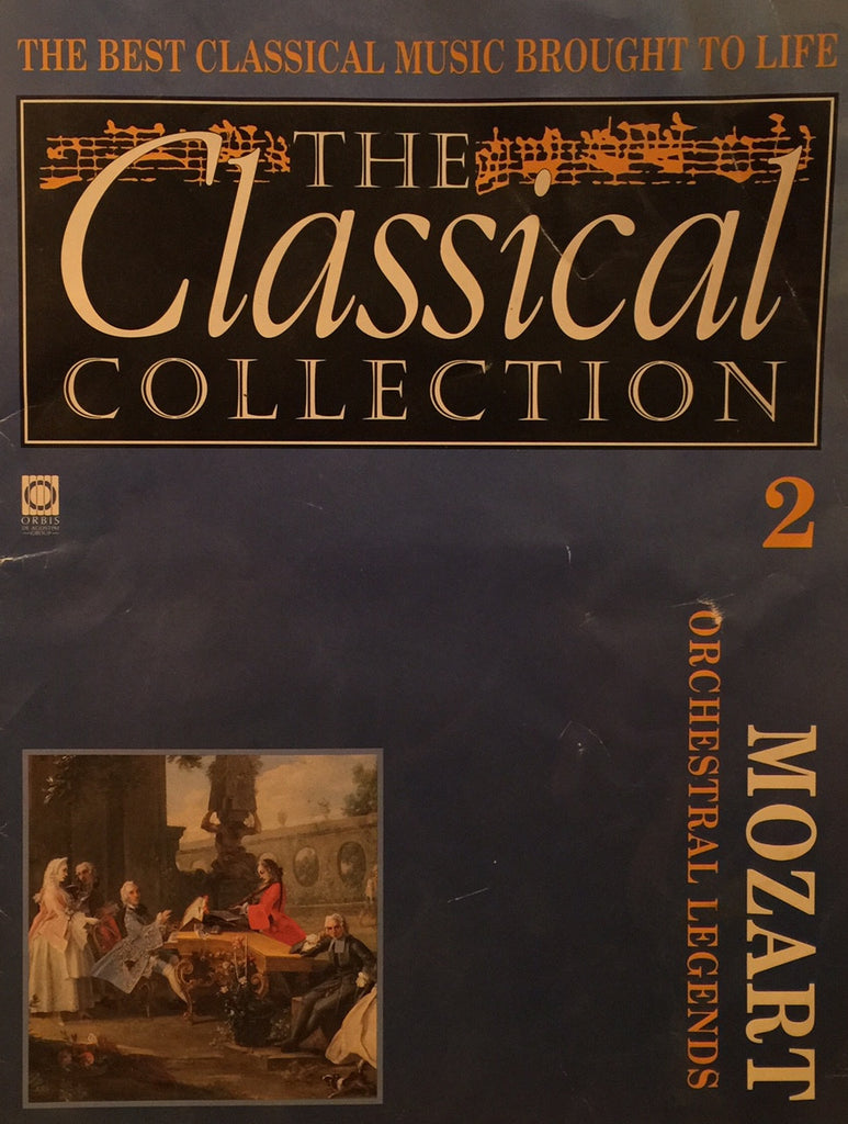 MOZART Orchestral Legends (THE CLASSICAL COLLECTION) Pamphlet - 1992
