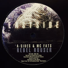 "A Sides, MC Fats, Break - Rebel Rouser / Definite 12"" EAST83 Eastside Records"