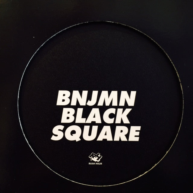 "BNJMN - Black Square 12"" RHDC10 Rush Hour Direct Current"