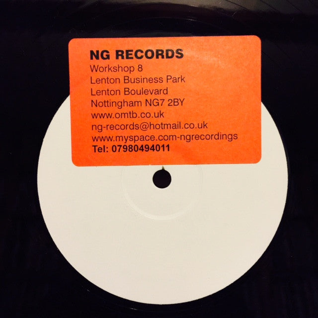 "Frost - The Frost 12"" PROMO NGR001"