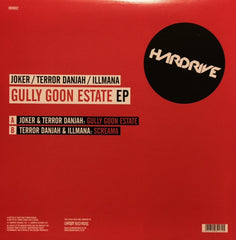 "Joker, Terror Danjah, Illmana - Gully Goon Estate EP 12"" HDR002 Hardrive Records"