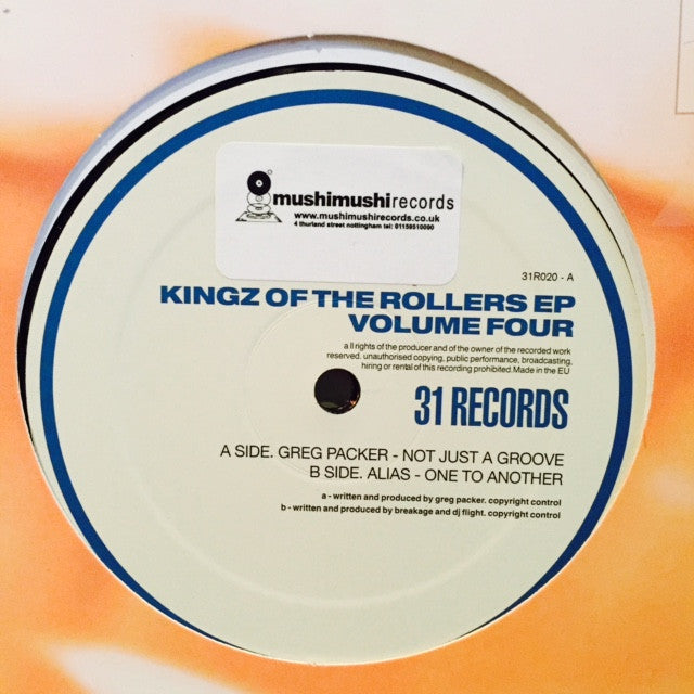 "Various - Kingz Of The Rollers EP Volume Four 2x12"" 31R020 31 Records"