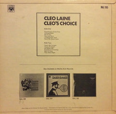 "Cleo Laine - Cleo's Choice 12"" Marble Arch Records MAL 1185"