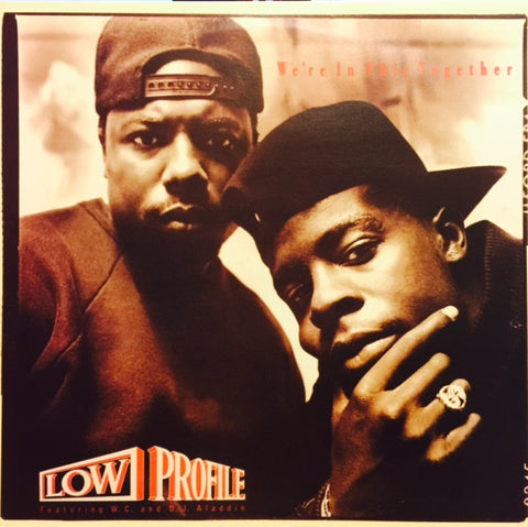 "Low Profile ‎– We're In This Together 12"" Priority Records – SL 57116"