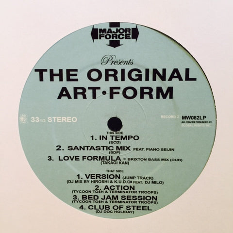 "Various - The Original Art-Form 12""MW082LP Mo Wax"