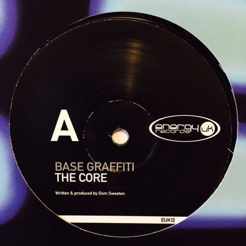 "Base Graffiti - The Core / Expounder 12"" EUK12 Energy UK Records"