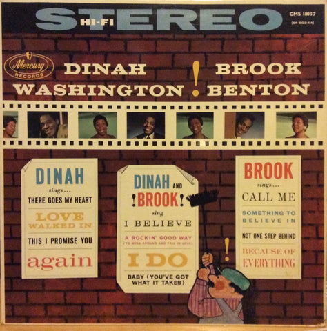 "Dinah Washington And Brook Benton - The Two Of Us 12"" Mercury CMS 18037"