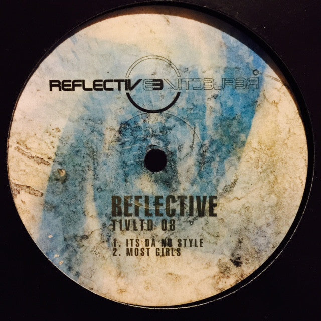 "Big Ang - Reflective LTD 8 12"" TIVLTD8 Reflective Records"