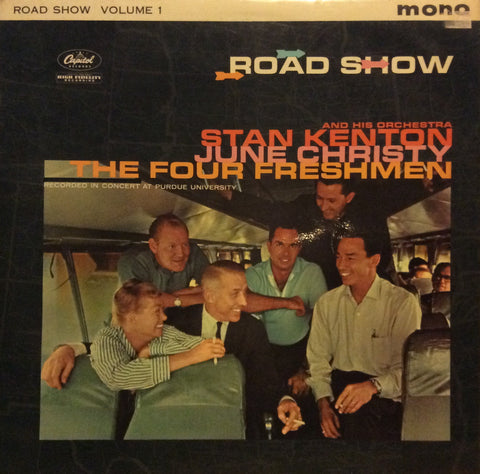 "Stan Kenton And His Orchestra - Road Show Volume 1 12"" Capitol Records T1 1327"