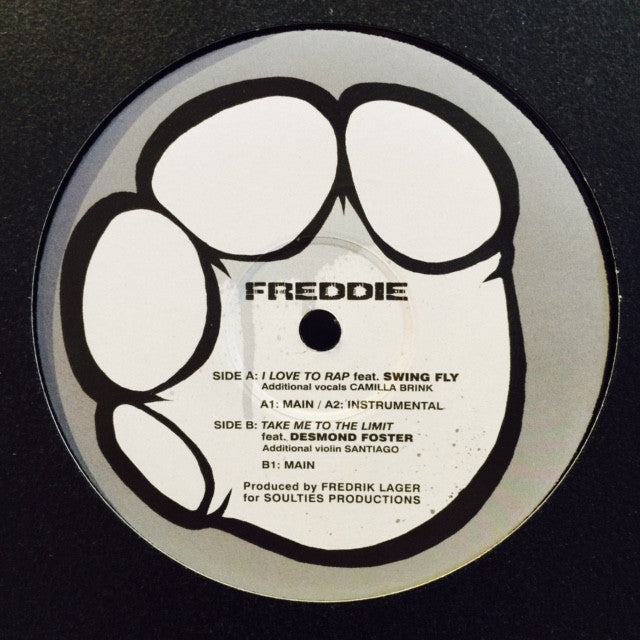 "Freddie Cruger - I Love To Rap 12"" ER001 The Elephant"