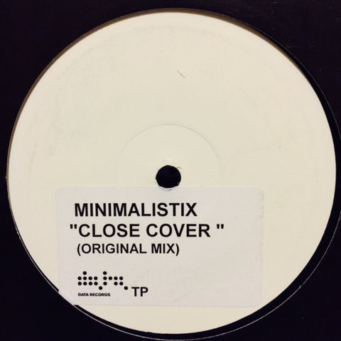 "Minimalistix - Close Cover 12"" PROMO EARTH002"