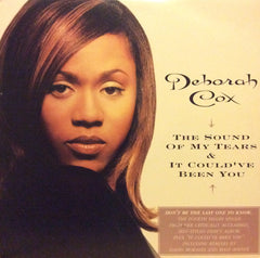 "Deborah Cox - The Sound Of My Tears / It Could've Been You 12"" Arista 07822-13278-1"