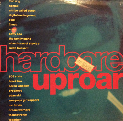 "Various - Hardcore Uproar 12"" Dino Entertainment DINTV 20"