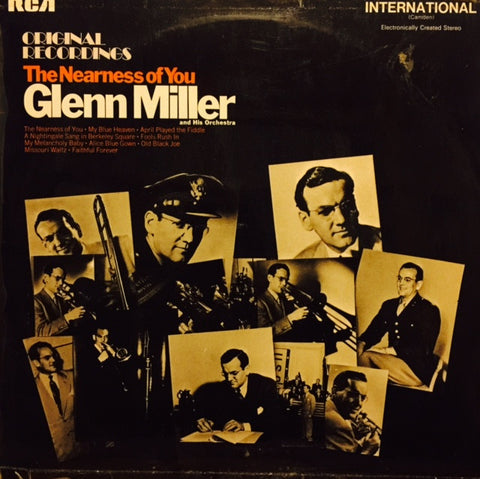 "Glenn Miller And His Orchestra - The Nearness Of You 12"" INTS1019 RCA International (Camden)"