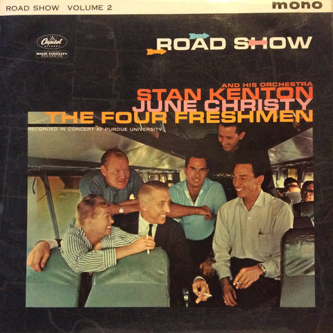 "Stan Kenton And His Orchestra - Road Show Volume 2 12"" Capitol Records T2-1327"