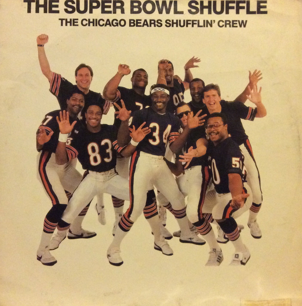 "The Chicago Bears Shufflin' Crew - The Super Bowl Shuffle 12"" Mercury BOWL 112"