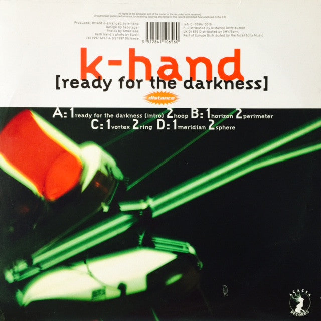 "K-Hand - Ready For The Darkness 2x12"" DI0656 Distance"