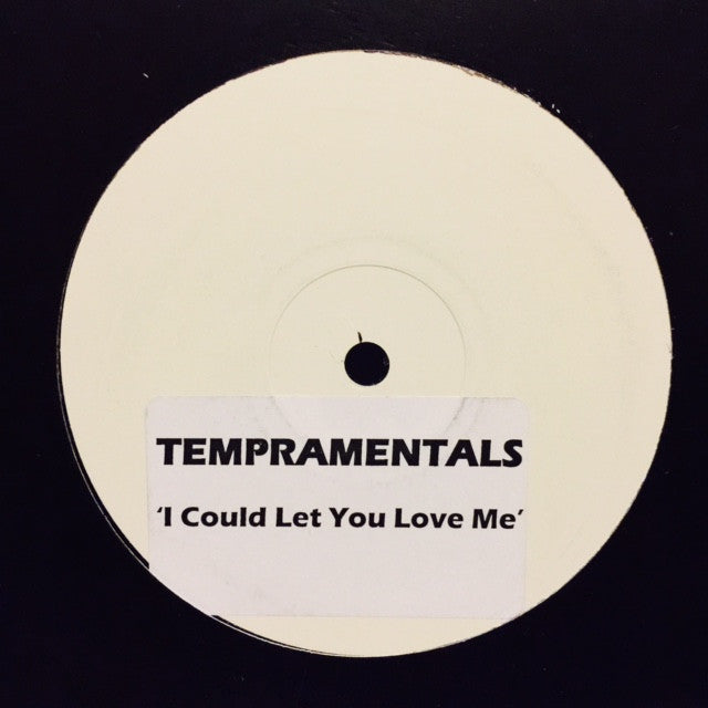 "Tempramentals - I Could Let You Love Me 12"" PROMO"