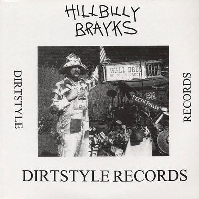"Butchwax - Hillbilly Brayks 12"" HBB001 Dirt Style Records"