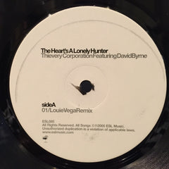 "Thievery Corporation Featuring David Byrne - The Heart's A Lonely Hunter 12"" Eighteenth Street Lounge Music ESL085"