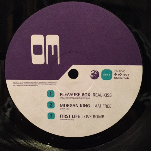 "Various - Sound Of The Absolute 12"" OM Records OM LP 001"