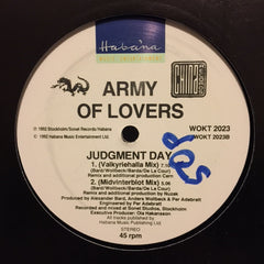 "Army Of Lovers - Judgment Day 12"" China Records, Habana WOKT 2023"