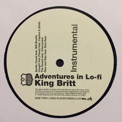 "King Britt - Adventures In Lo-fi Instrumental 2x12"" Rapster Records, BBE RR0013LPI"