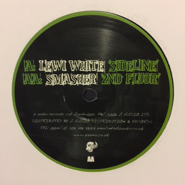 "Lewi White & Smasher - Sideline / 2nd Floor 12"" Z Audio ZAUDIO 004"