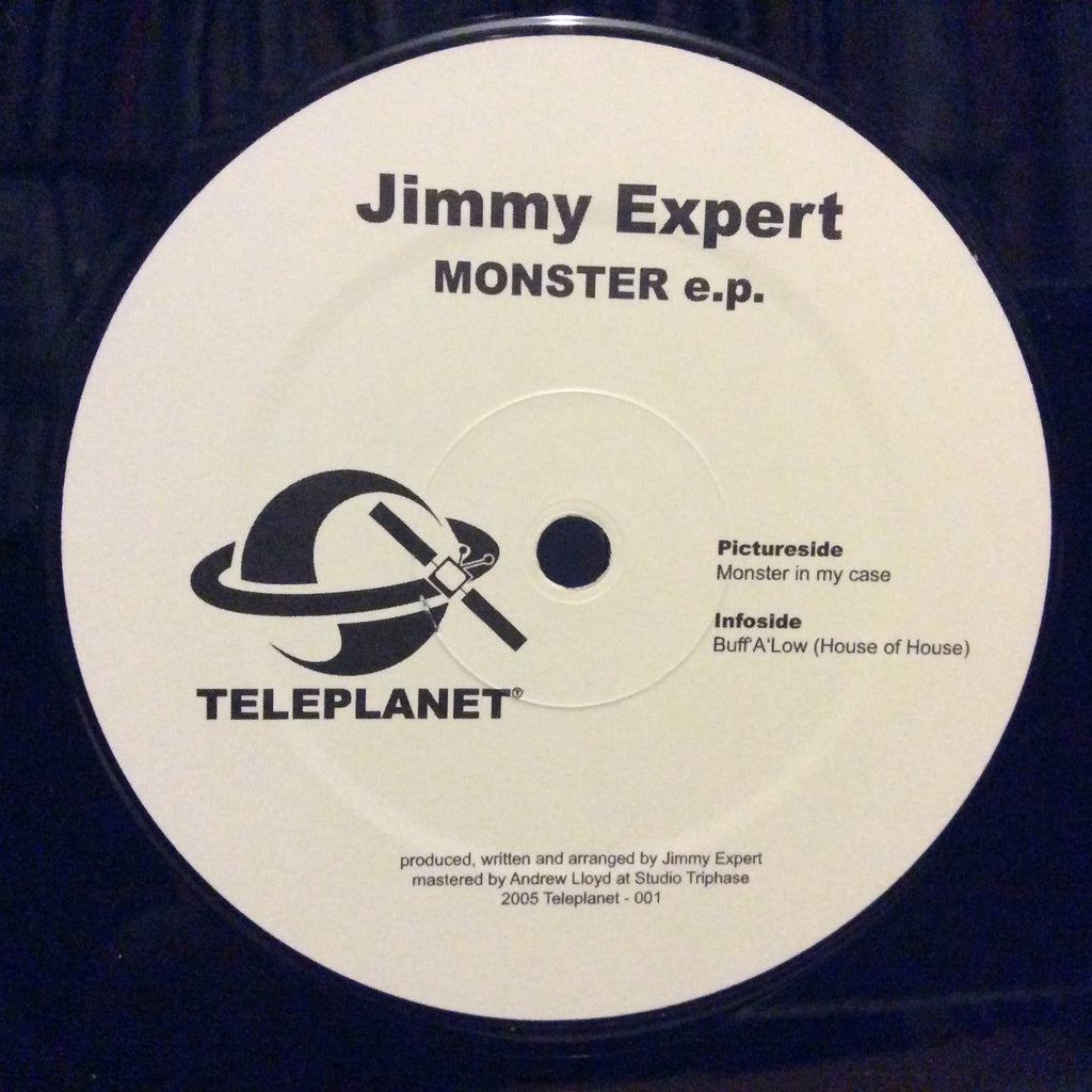 "Jimmy Expert - Monster E.P. 12"" Teleplanet Records Tele-001"