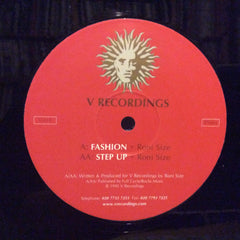 "Roni Size - Fashion / Step Up 12"" V Recordings V010"