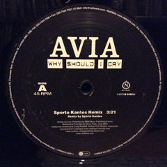 "Avia - Why Should I Cry 12"" Nettwerk 5037703319318"