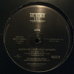 "Vita / Black Child - Justify My Love / The Prayer 12"" Def Jam Recordings DEFR 15293-1"