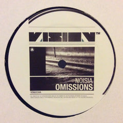 "Noisia - Bad Dreams / Omissions 12"" Vision Recordings VSN003"