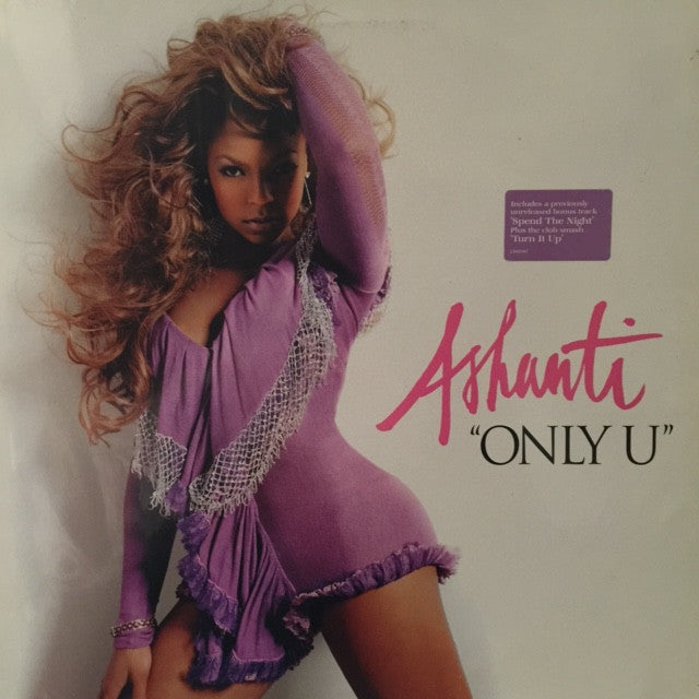 "Ashanti ‎– Only U 12"" The INC Records ‎– 2103787"