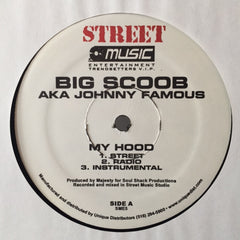 "Big Scoob ‎– My Hood 12"" Street Music Entertainment ‎– SME5"