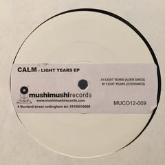 "Calm Featuring Moonage Electric Ensemble ‎– Moonage Electric Ensemble 3/4 2x12"" PROMO Music Conception ‎– MUCO12-009"