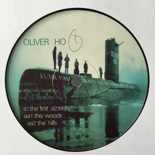 "Oliver Ho ‎– The First EP 12"" Surface ‎– SF001"