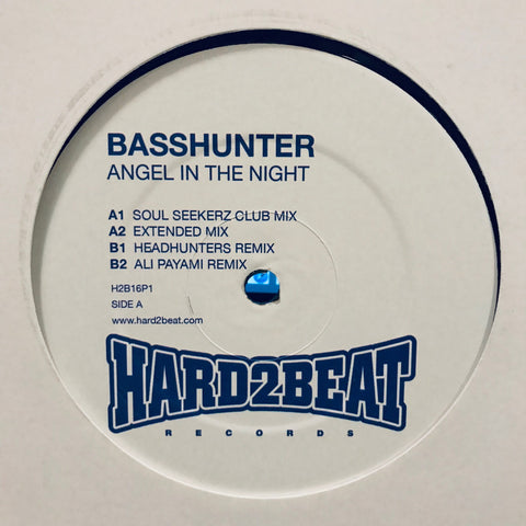 Basshunter ‎– Angel In The Night - Hard2Beat Records ‎– H2B16P1