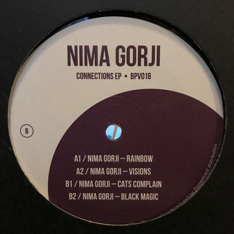 Nima Gorji ‎– Connections EP - BodyParts Vinyl ‎– BPV016