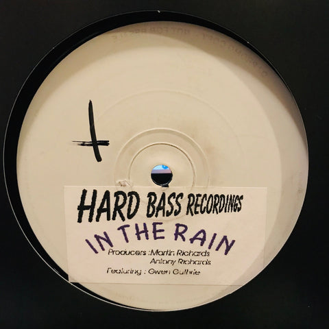 Martin Richards & Antony Richards ‎– In The Rain - Hardbass Recordings - HBR002