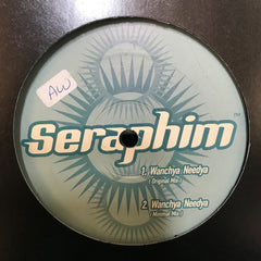 "Seraphim - Wanchya Needya 12"" Black Dahlia Records BD 002"