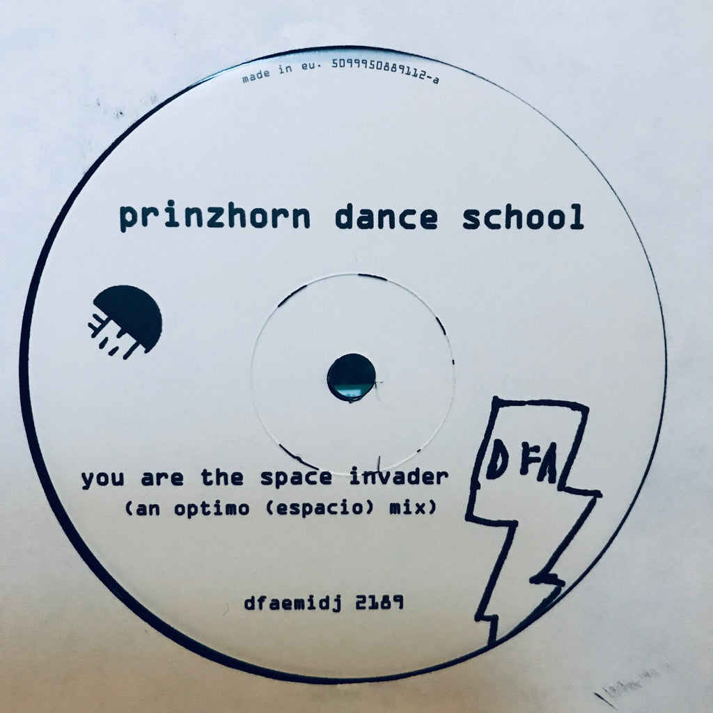 Prinzhorn Dance School - You Are The Space Invader - Promo - DFA, EMI dfaemidj 2189